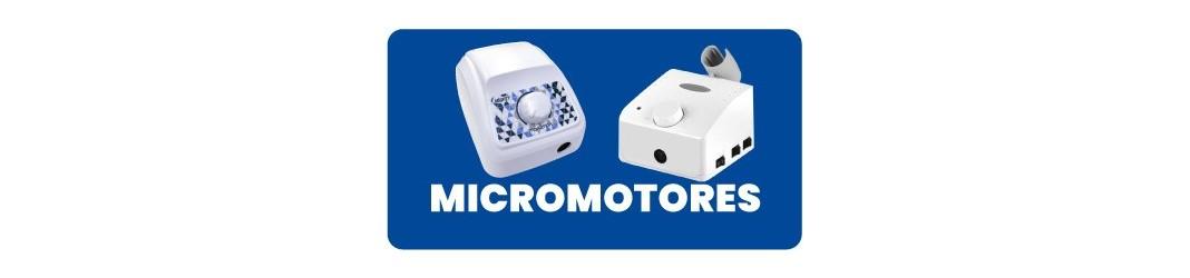 Micromotores para Odontología y Laboratorio Dental