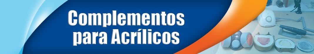 Complementos para Acrílicos para Odontología y Laboratorio Dental